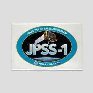 JPSS-1 Logo Rectangle Magnet