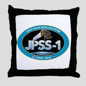 JPSS-1 Logo Throw Pillow