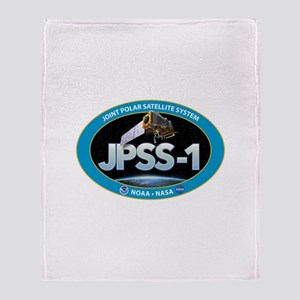 JPSS-1 Logo Throw Blanket