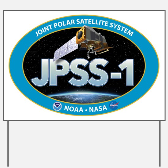 JPSS-1 Logo Yard Sign