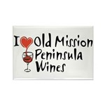 Old Mission Wines Rectangle Magnet (100 pack)