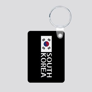 South Korea: South Korean Aluminum Photo Keychain