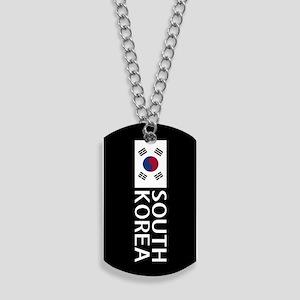 South Korea: South Korean Flag & South Ko Dog Tags