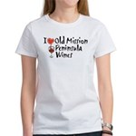 Old Mission Wines Women's T-Shirt