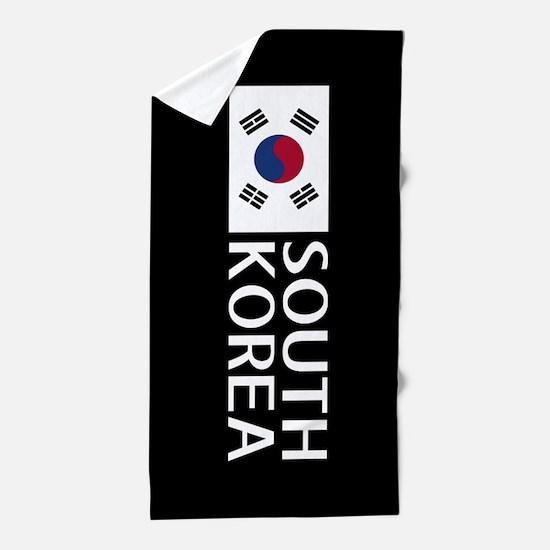 South Korea: South Korean Flag & South Beach Towel