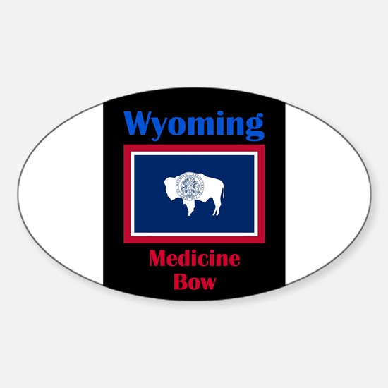 Medicine Bow Wyoming Decal