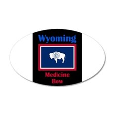 Medicine Bow Wyoming Wall Decal