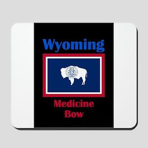 Medicine Bow Wyoming Mousepad