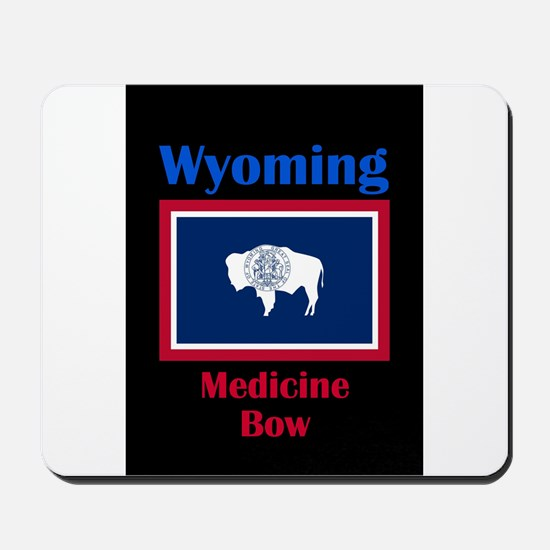 Medicine Bow Wyoming Mousepad