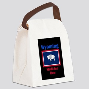Medicine Bow Wyoming Canvas Lunch Bag