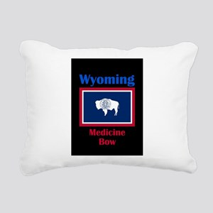 Medicine Bow Wyoming Rectangular Canvas Pillow