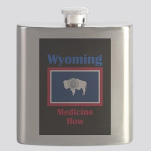 Medicine Bow Wyoming Flask