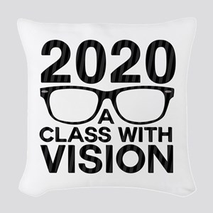 2020 Class with Vision Woven Throw Pillow