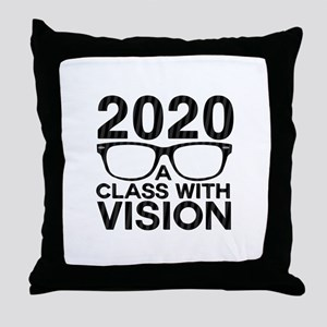 2020 Class with Vision Throw Pillow
