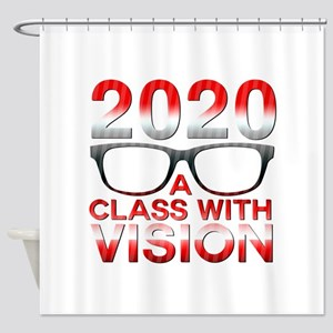 2020 Class with Vision Shower Curtain