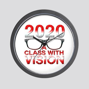 2020 Class with Vision Wall Clock