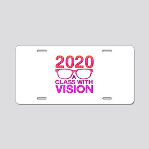 2020 Class with Vision Aluminum License Plate