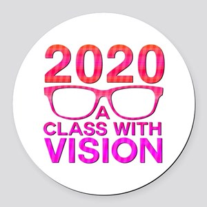 2020 Class with Vision Round Car Magnet