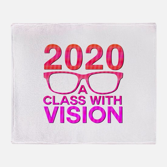 2020 Class with Vision Throw Blanket