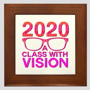 2020 Class with Vision Framed Tile
