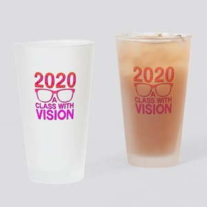 2020 Class with Vision Drinking Glass