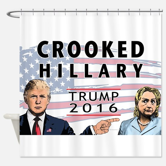 Donald Trump for President 2016 - C Shower Curtain