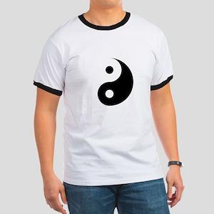 Minimalist Yin Yang Symbol T-Shirt