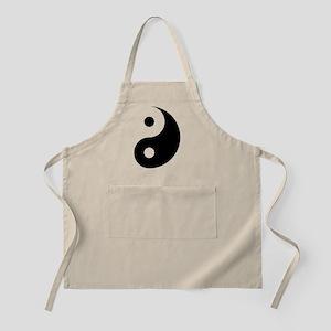 Minimalist Yin Yang Symbol Apron