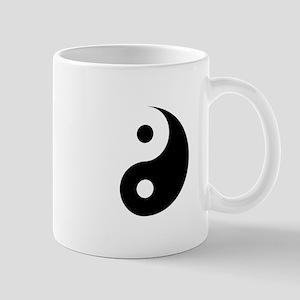 Minimalist Yin Yang Symbol Mugs