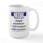 Stupid Questions (N) Mugs