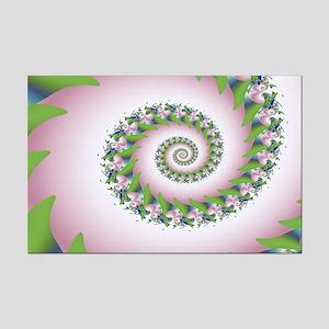 """Pink Pearl"" Fractal Art Mini Poster Print"