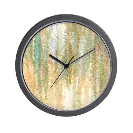 30 wall clock round abstract wall clocks cafepress