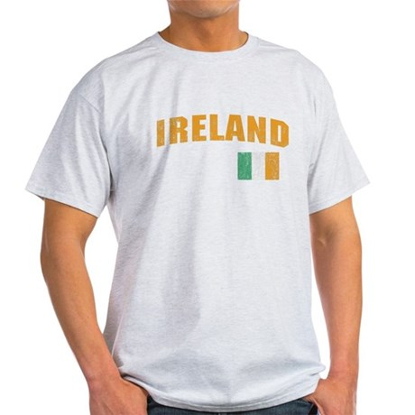 Vintage Ireland Soccer Light T-Shirt