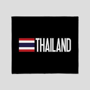 Thailand: Thai Flag & Thailand Throw Blanket