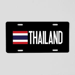 Thailand: Thai Flag & Thail Aluminum License Plate