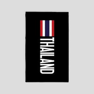 Thailand: Thai Flag & Thailand Area Rug