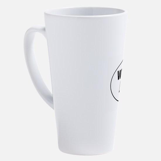Unique Curb your enthusiasm 17 oz Latte Mug
