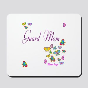 Guard Mom Butterflies Mousepad