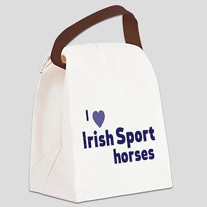 Irish Sport horses Canvas Lunch Bag