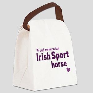 Irish Sport horse Canvas Lunch Bag