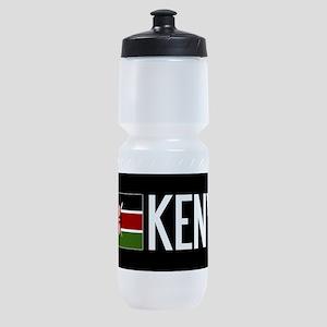 Kenya: Kenyan Flag & Kenya Sports Bottle