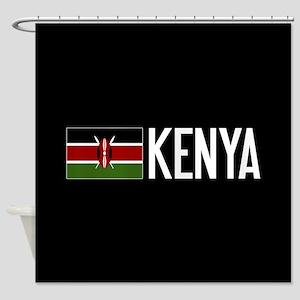 Kenya: Kenyan Flag & Kenya Shower Curtain