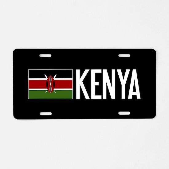 Kenya: Kenyan Flag & Kenya Aluminum License Plate