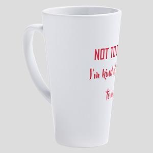 NOT TO BRAG BUT... 17 oz Latte Mug