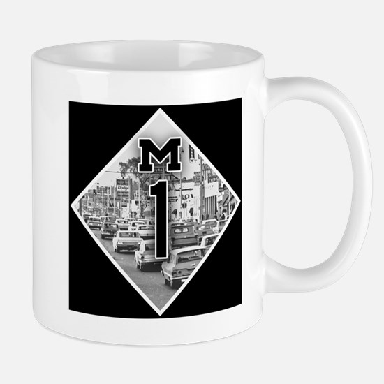 Michigan M1 Woodward Cruise Mugs