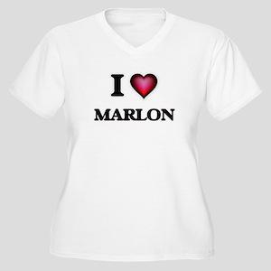 I love Marlon Plus Size T-Shirt