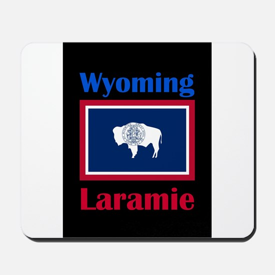 Laramie Wyoming Mousepad