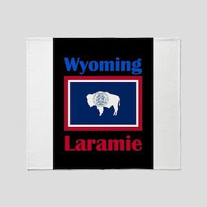 Laramie Wyoming Throw Blanket