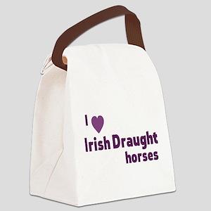 Irish Draught horses Canvas Lunch Bag