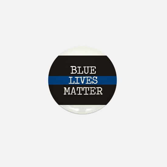 Blue Lives Matter Mini Button